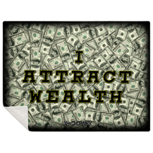 Load image into Gallery viewer, Wealth Affirmation Blanket