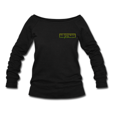 Load image into Gallery viewer, Confidence Wideneck Sweatshirt - black