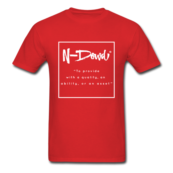 Definition Unisex T-Shirt - red