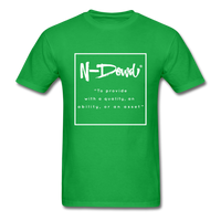 Definition Unisex T-Shirt - bright green
