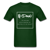 Definition Unisex T-Shirt - forest green