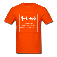Definition Unisex T-Shirt - orange