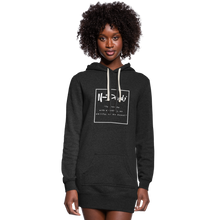 Load image into Gallery viewer, Definition Hoodie Dress - heather black