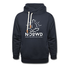 Load image into Gallery viewer, Logo Shawl Collar Hoodie - navy