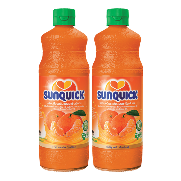 Sunquick MANDARIN ORANGE 840 ml x2 bottle
