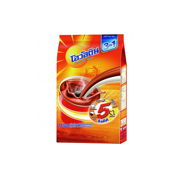 OVALTINE 3 IN 1 33 G. Pack. 14 Units.