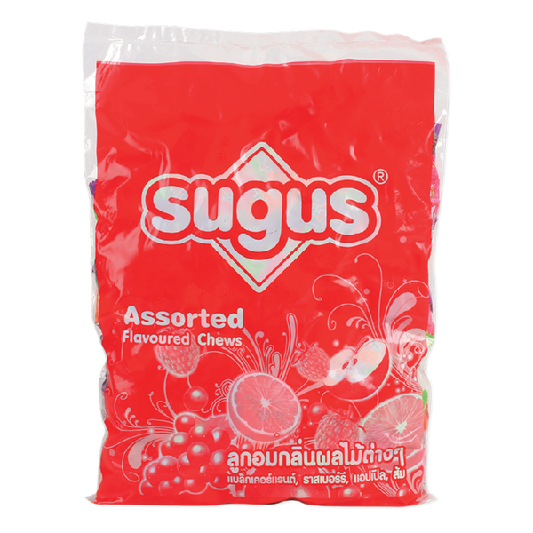 Sugus Candy assorted flavoured chews 500 pcs X 1 pack