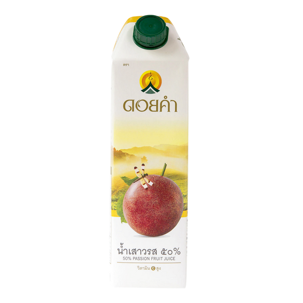 DOI KHAM PASSION FRUIT JUICE 1000 ml x1 box