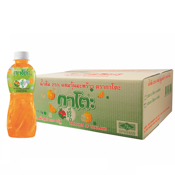 KATO25%ORANGE+NATA COCO 320G*48