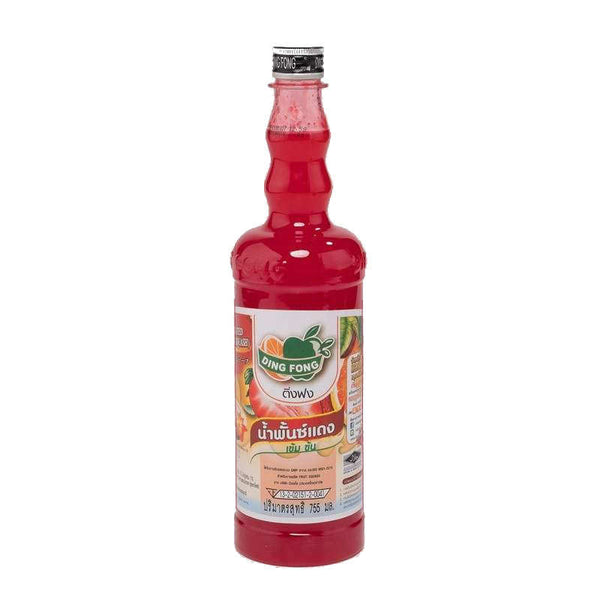 DING FONG RED PUNCH SQUASH 755ML
