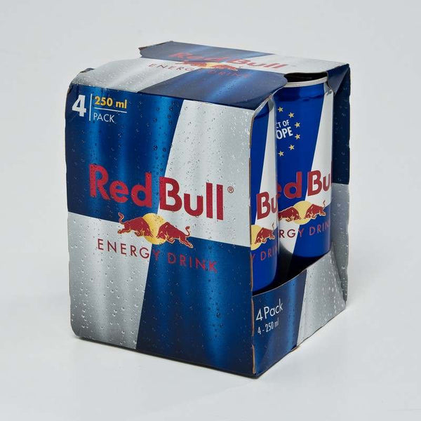 RED BULL CAN MIXER 250ML*4