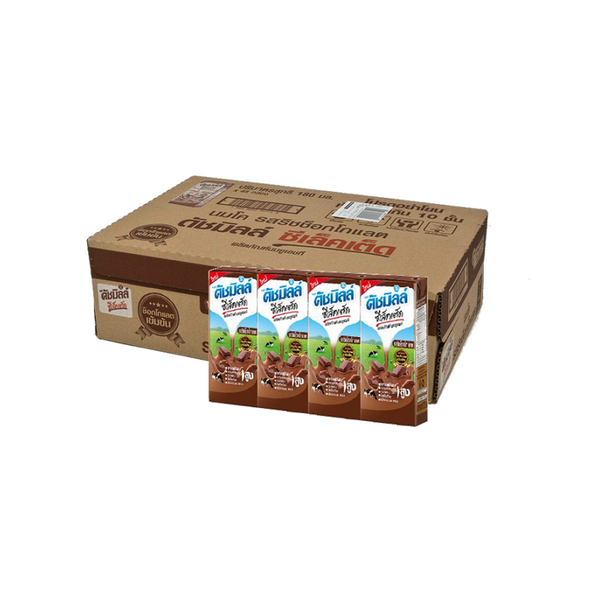 UHT MILK SELECTED CHOCOLATE 180MLX48 units