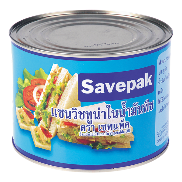 SAVEPAK TUNA SANDWICH 1800G
