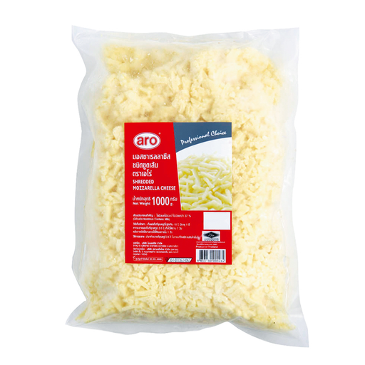 ARO SHREDED MOZZARELLA CHEESE 1KG*1