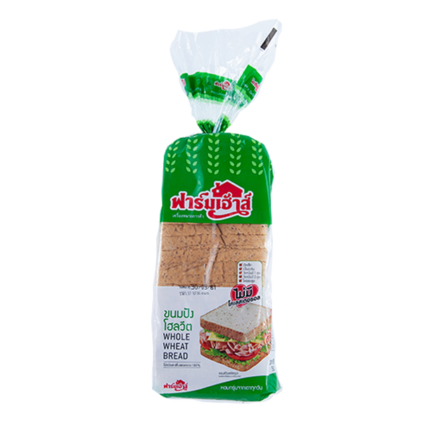WHOLEWHEAT BREAD 500G. 1 bag
