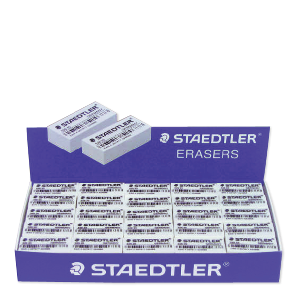 Staedtler eraser 1 pack x50 bar