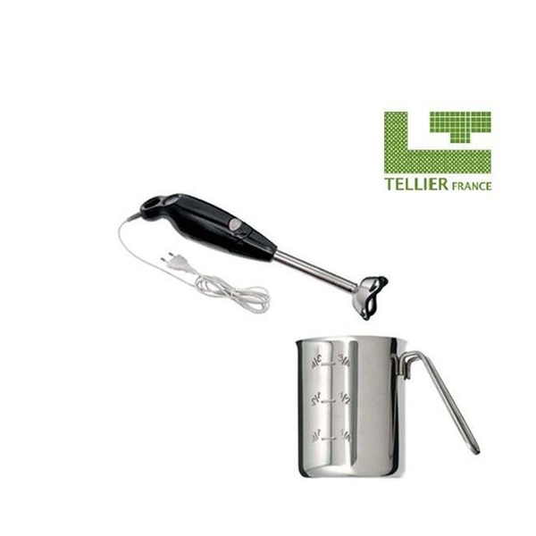 L.Tellier Mini mixer with stainless steel pot 75 litre MIX1.1 (Made from France)
