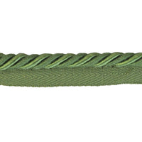 "Hunter Green 1/4"" Cord with Lip - BC-10008-25 - 6 YARD ROLL"