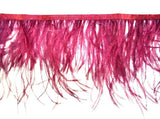 Ostrich Feathers Trims Fringe with Satin Ribbon Tape Dress