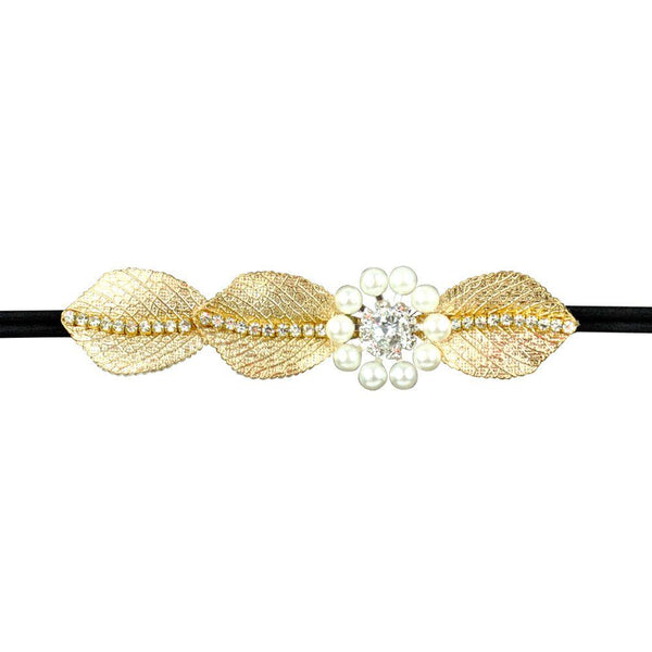 Crystal Headband - Rhinestone Elastic Headbands - For Fashion, Bridal and Eveningwear