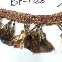 "3"" Beaded Tassel Fringe - 1 Yard Increment - BF-1428-66/61"