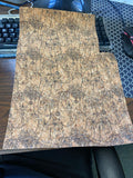"11"" x 15"" Cork Fabric Samples - #1017 and #1020"