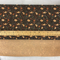 "25"" Cork Fabric by the Yard - Wide Terazzo 1 Style #1023"