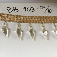 "Beaded Fringe-2.75"" length-BB-903 - BY THE YARD"