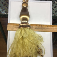 30 inch Bronze-Gold Tassel Tieback  BT-634-83/10 - 1 PC