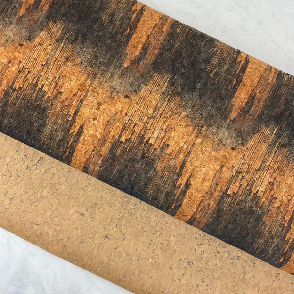 "25"" Cork Fabric by the Yard - Wide Texture Style #1019"