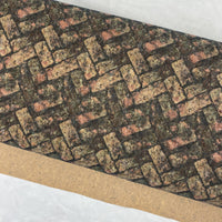 "25"" Cork Fabric by the Yard - Pavers Style #1018"