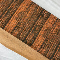 "25"" Cork Fabric by the Yard - Wood Grain Style #1020"