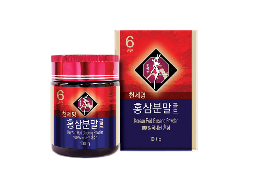 Premium Ginseng Coreean Powder GOLD 100gr