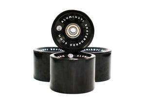 Black Aluminati Skateboard Wheels