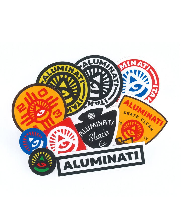 Aluminati Sticker Pack