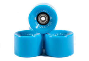Blue Aluminati Skateboard Wheels