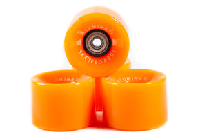 Orange Aluminati Skateboard Wheels