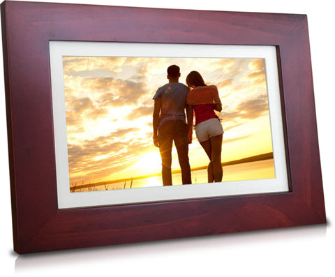 8inch touch screen 10GB cloud storage digital photo frame