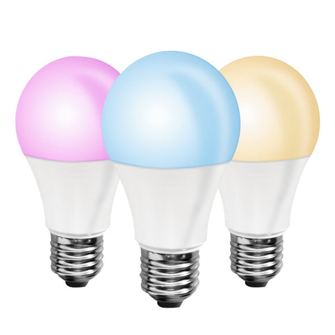 smart LED bulb; dimmable bulb;  timer;  home automation