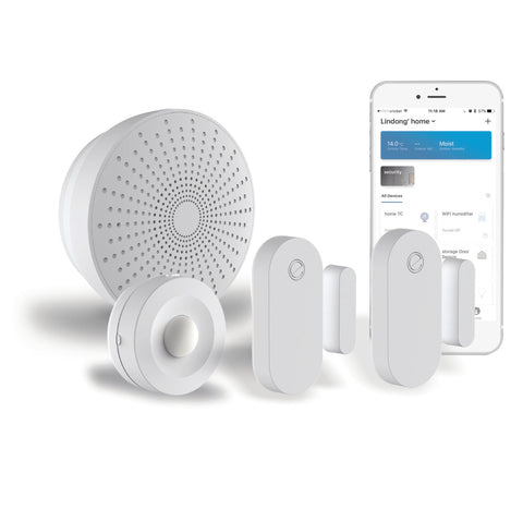 smart home security alarm starter kit; home automation