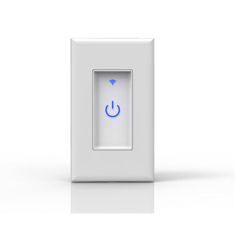 smart wifi switch; touch panel; home automation