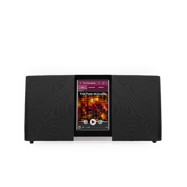 Wi-Fi Internet Radio With 4.3 Inch Touchscreen Music Streaming Glossy Black (refurbished)