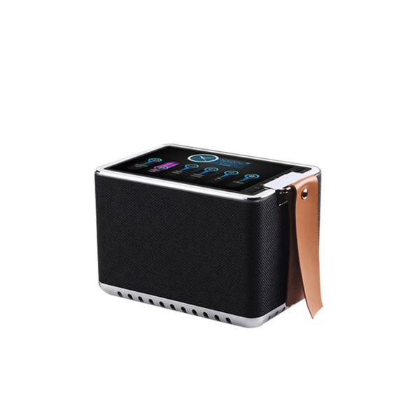"Hi-Fi Stereo Sound Streaming Speaker with 8"" High Definition Touchscreen"