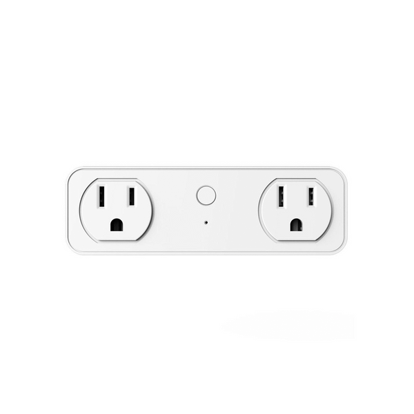 eco4life WiFi Dual Smart Plug, 2 Outlet Extenders with 2 USB Charging Port, Work with Alexa Google Home, no Hub Required (2 Outlets,2 USB Ports), ETL Certificate
