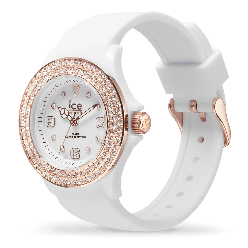ICE star - White rose-gold - Smooth