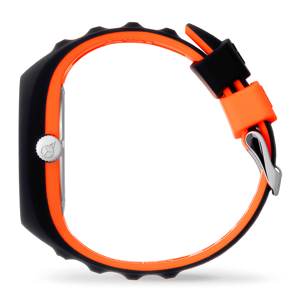 Pierre Leclercq black orange