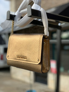 GOLD MICHAEL CROSSBODY