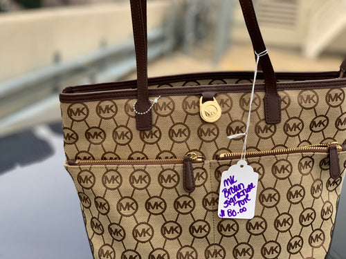 MICHAEL KORS USED HANDBAG
