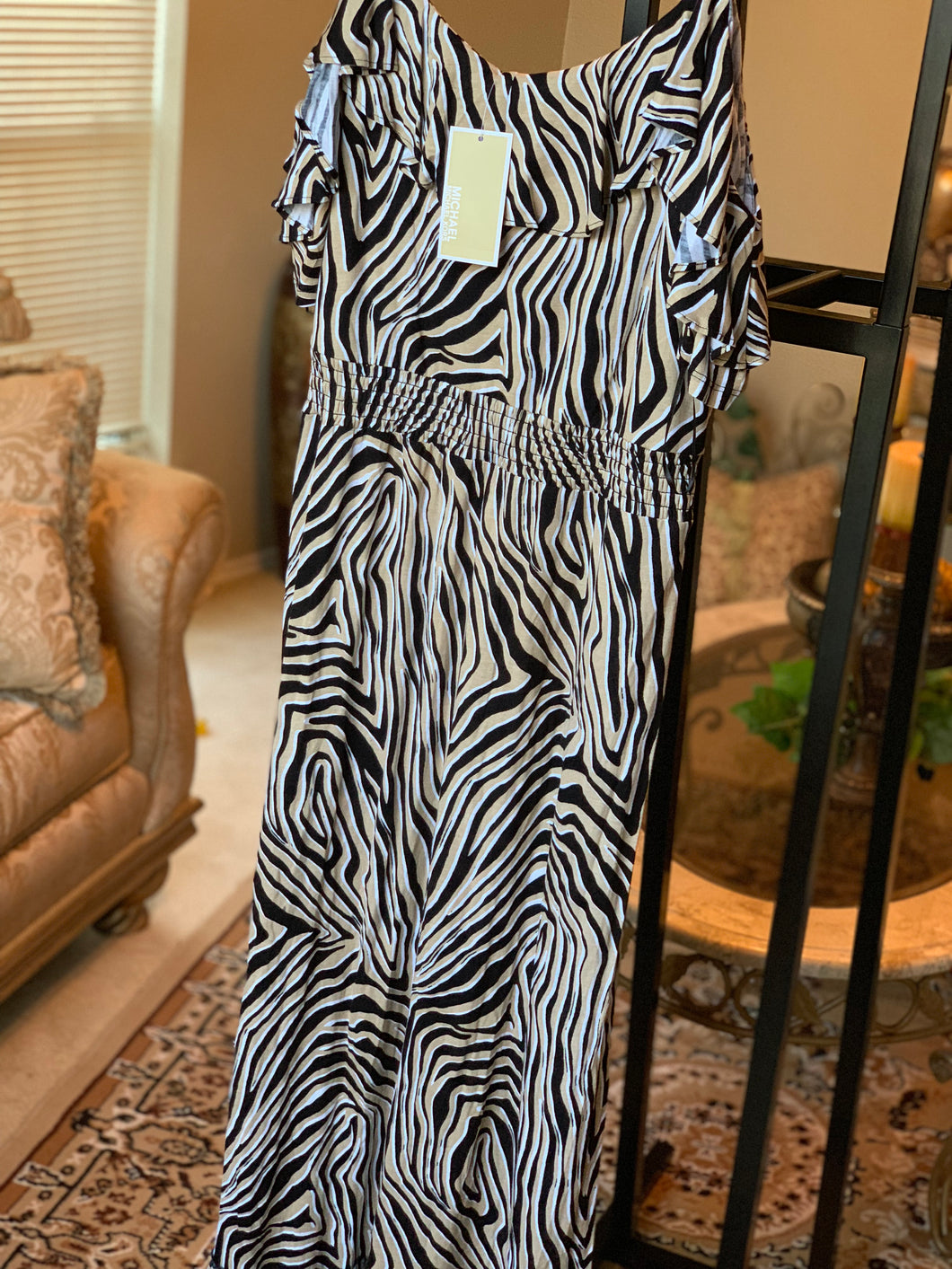 MICHAEL KORS MAXI DRESS SIZE LARGE