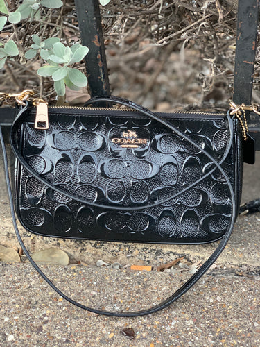 GENTLY WORN COACH CROSSBODY